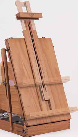 Mabef cassetta a cavalletto da tavolo m 24 - Cavalletto da pittore da tavolo ...