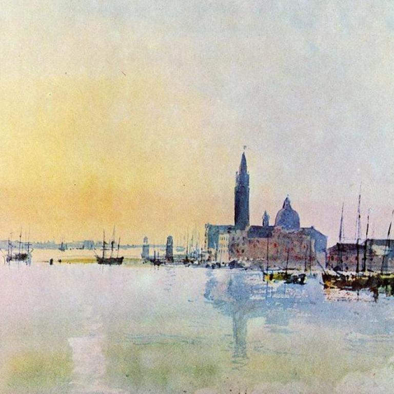 Venezia San Giorgio dalla Dogana (William Turner)