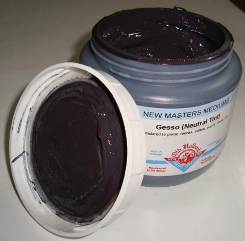 Old Holland gesso tinta neutra
